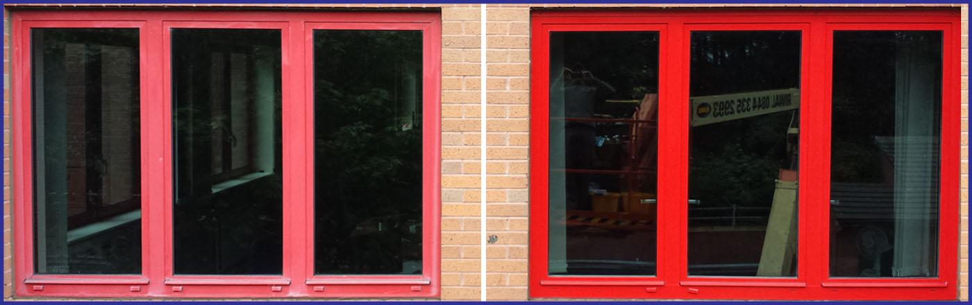 Powder Coated Aluminium Window Frame Cleanexterior Co Uk