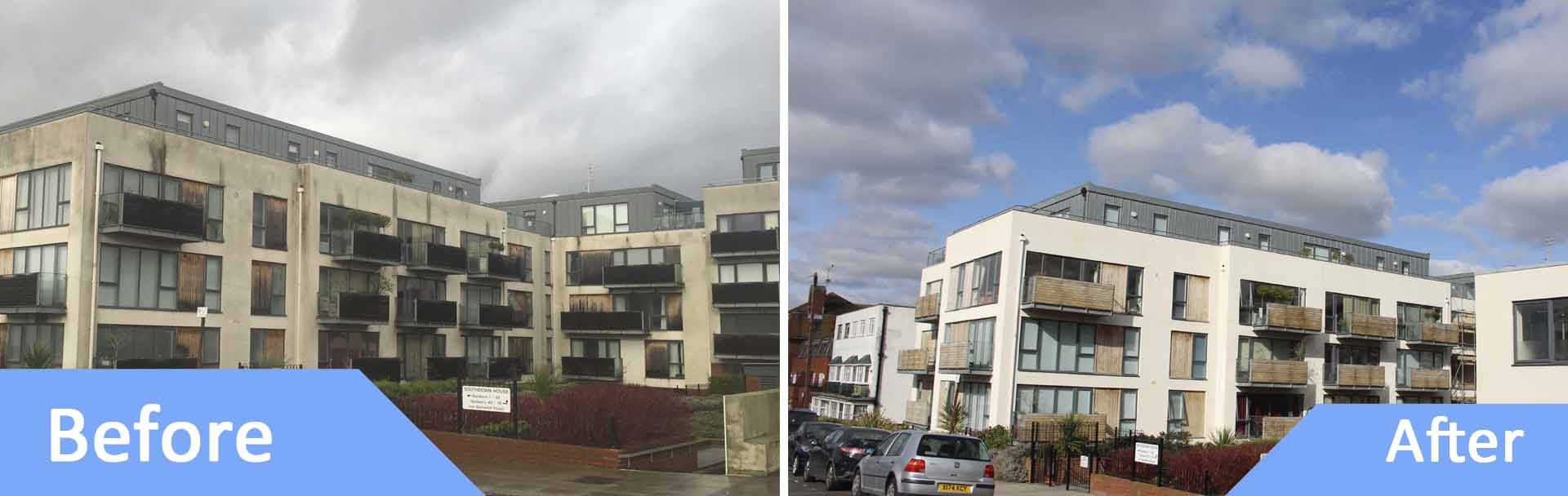 Render Cleaning Chichester Exterior Cleaning