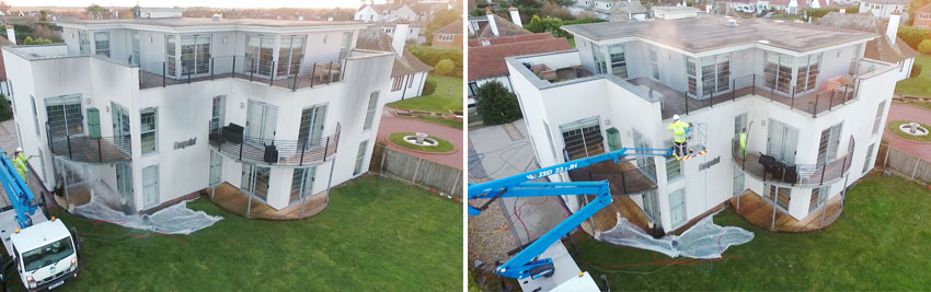 Render Cleaning Brighton
